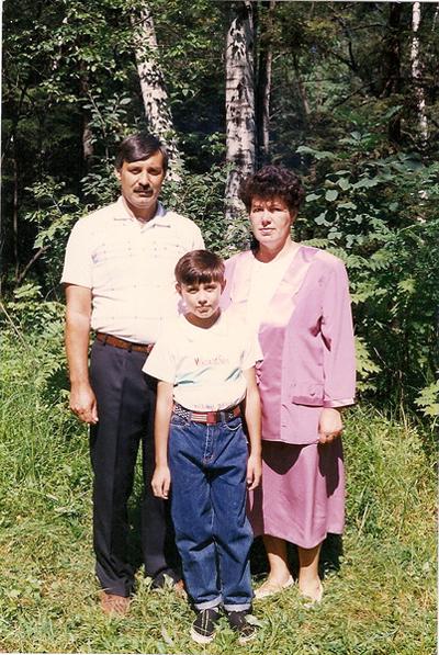 Мои родители и я.